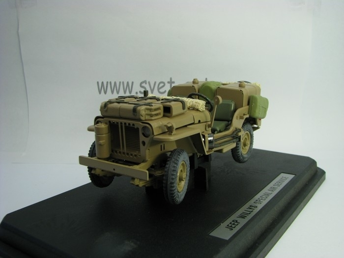 Jeep Willys special air service 1:24 Kaden